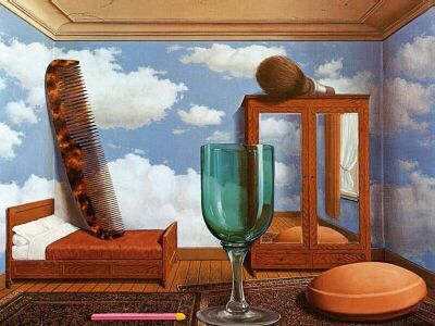Art by Rene Magritte