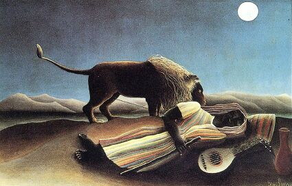 Art by Henri Rousseau